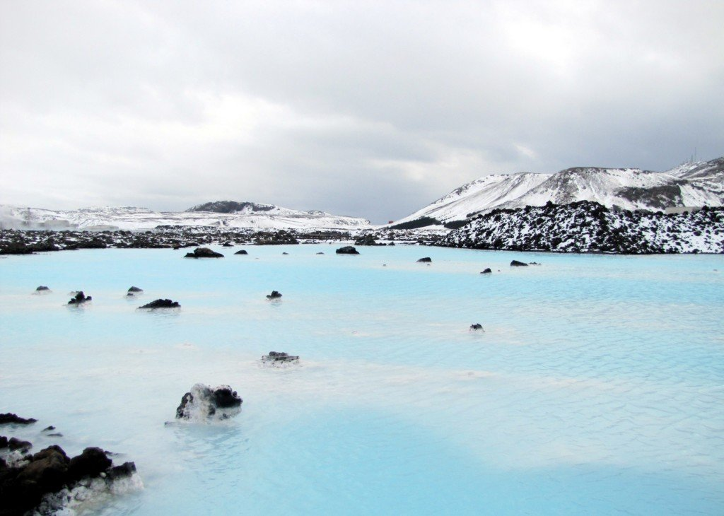 Blue Lagoon winter