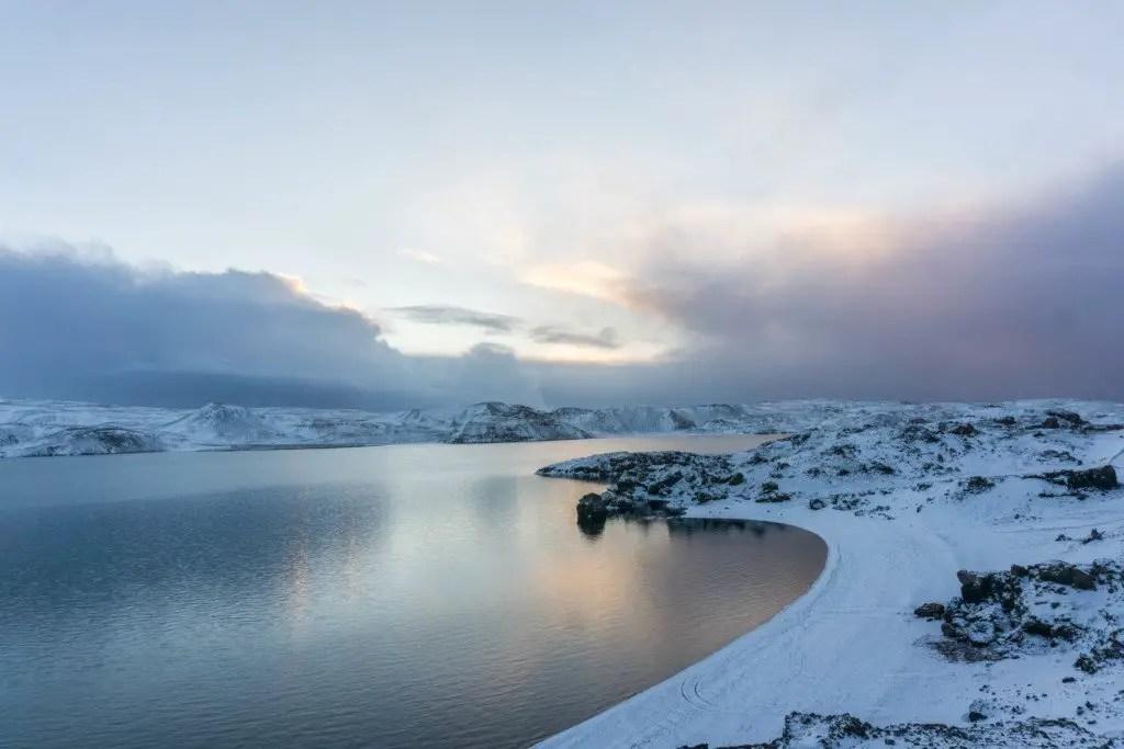 Kleifarvatn lake reykjanes peninsula