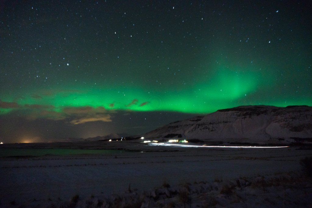 Viewing the Aurora in Iceland