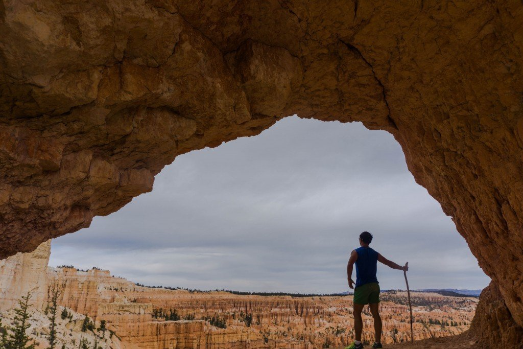 Bryce canyon views arch
