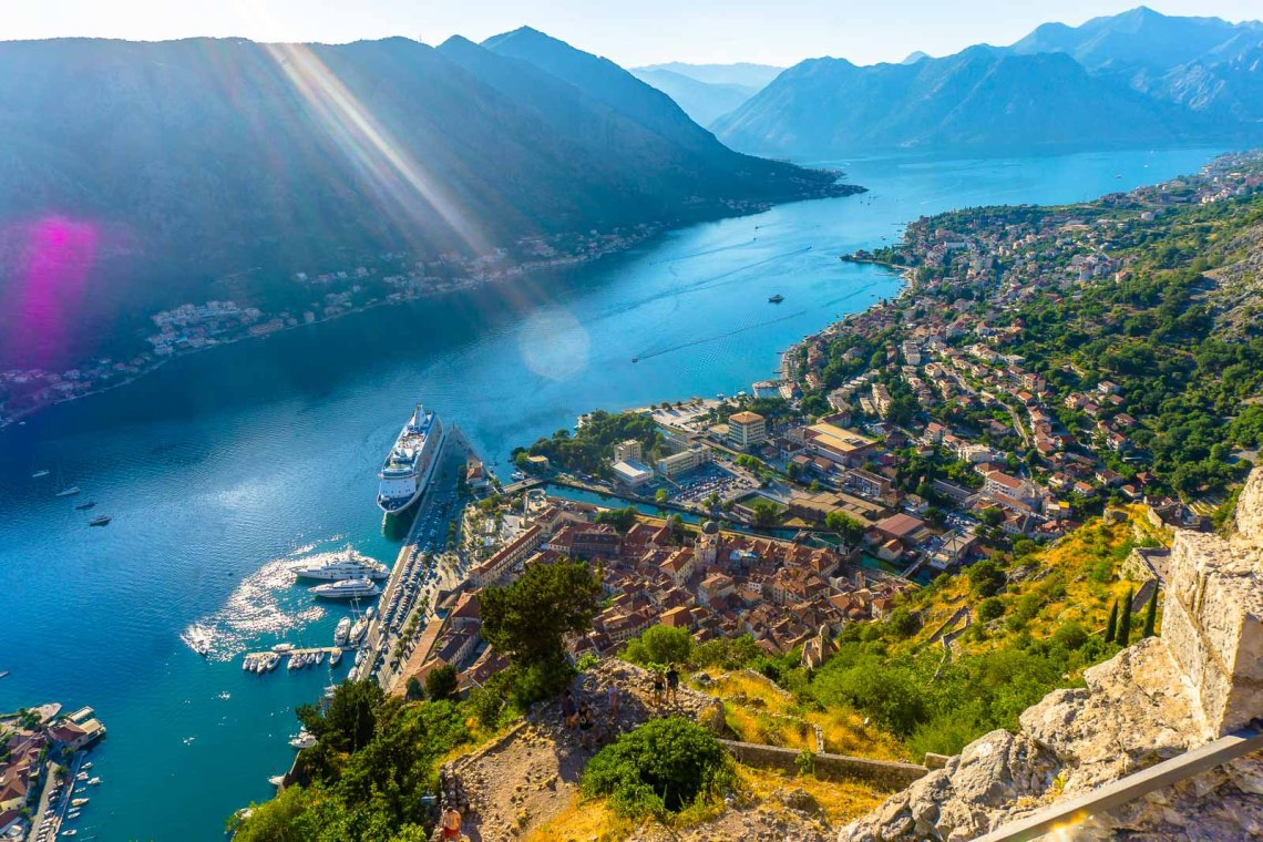 kotor montenegro hike mountain