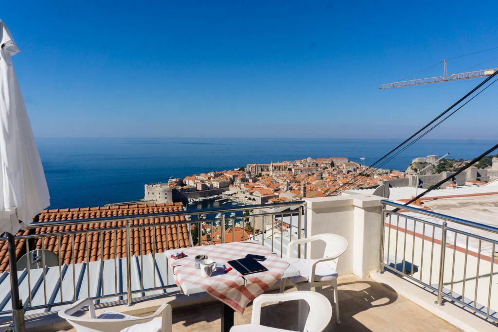 Ploce apartment Dubrovnik views