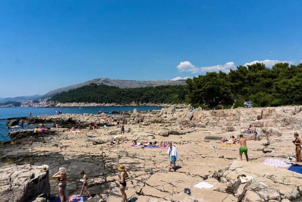Lokrum beach