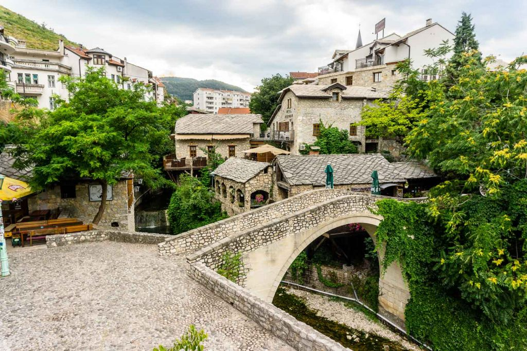 Crooked bridge mostar