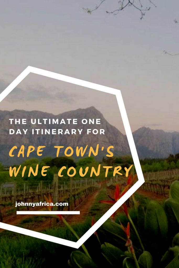 South Africa has in my opinion, the most visually stunning wine country in the world. It makes for a great day trip out of Cape Town and here is my itinerary for the perfect day exploring the nearby wine farms. #capetown #stellenbosch #franschhoek #constantia