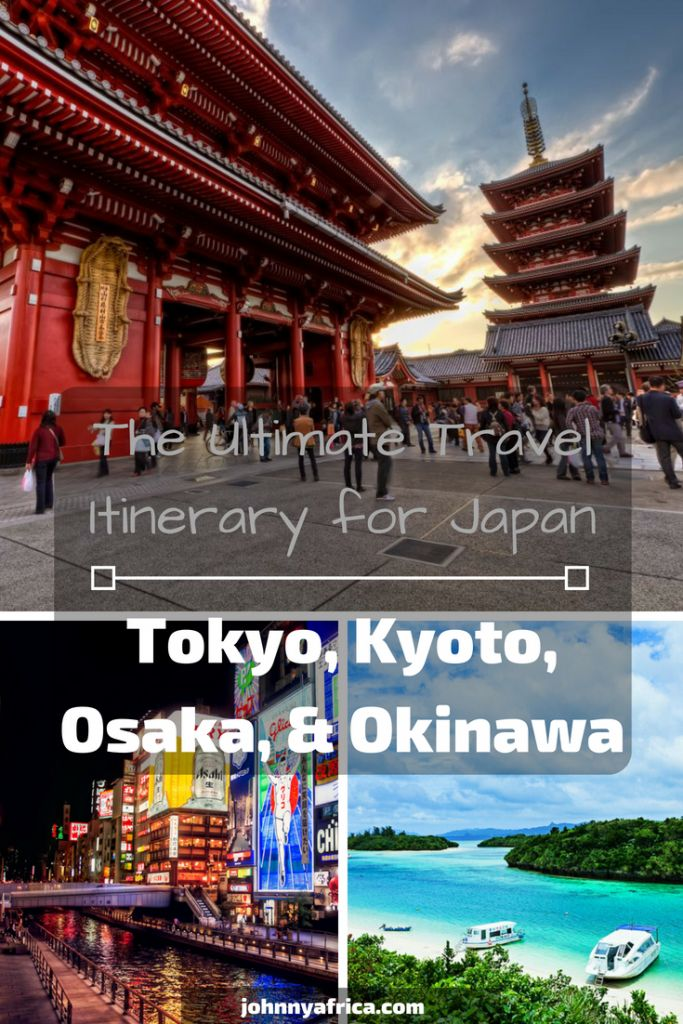The Perfect Two Week Japan Itinerary: Tokyo, Kyoto, Osaka, and Okinawa
