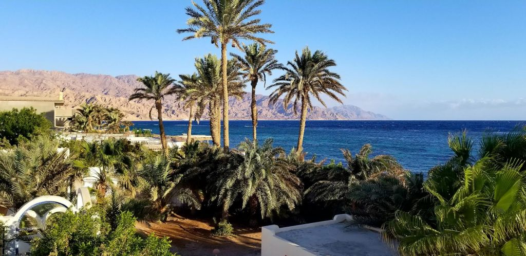 Dahab egypt red sea view