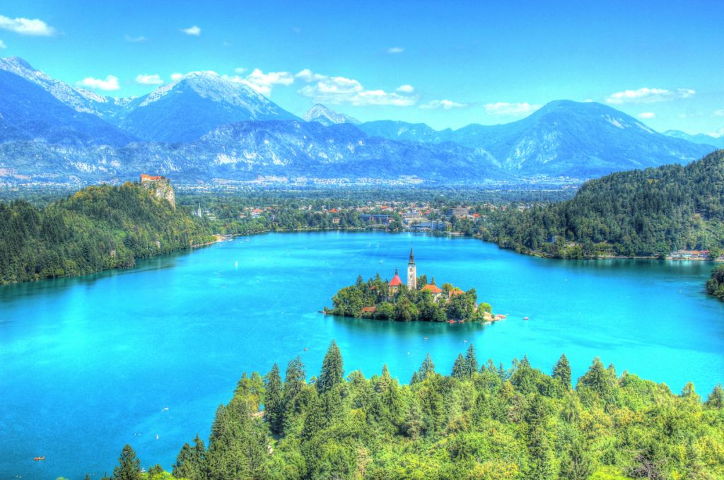 Lake bled slovenia picturesque