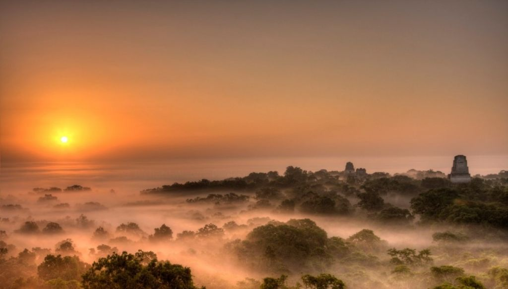 Tikal Sunrise trek guatemala