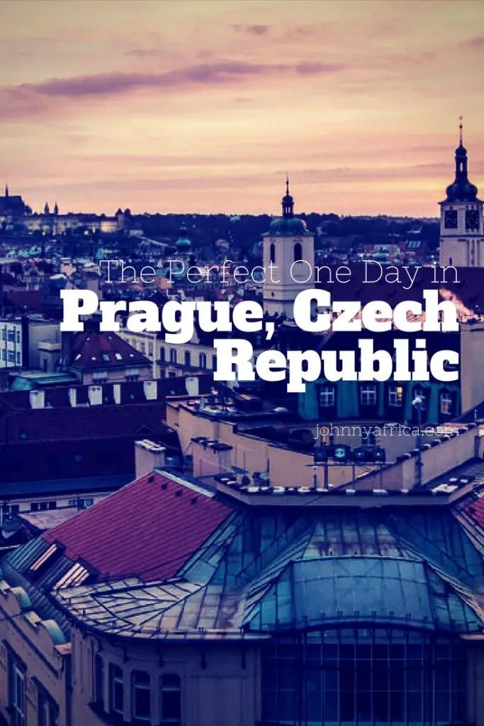 The Perfect way to spend a day in the beautiful city of Prague, Czech Republic! #prague #czechrepublic