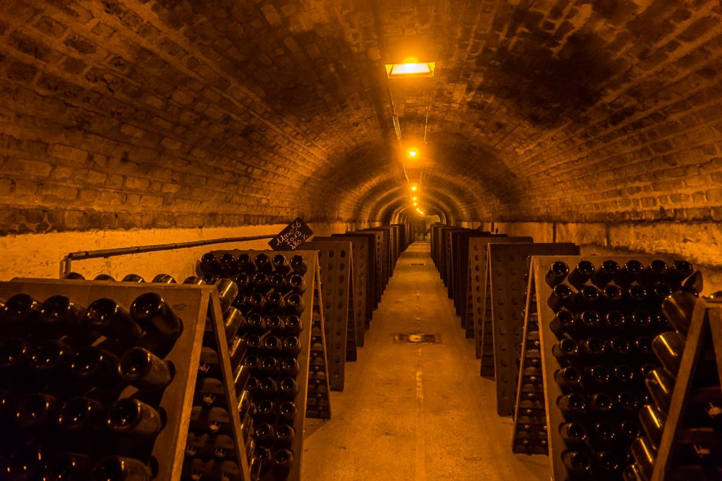Champagne region france tasting paris day trip epernay hautvillers moet and chandon cellars