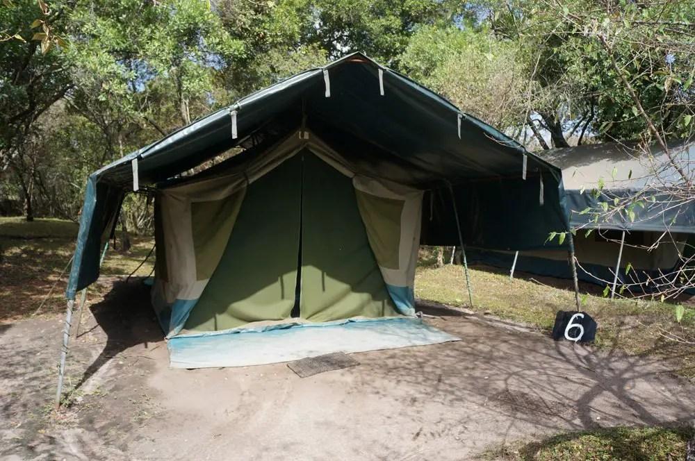 budget safari tent masai mara