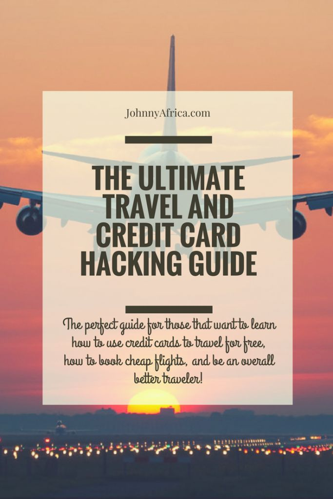 This is the ultimate resource for any traveler that wants to learn about travel hacking! This guide includes extensive advice on gaming credit cards, how to book cheap flights, and being an overall better traveler! #travelhacking #travelhack #budgettravel #traveltips