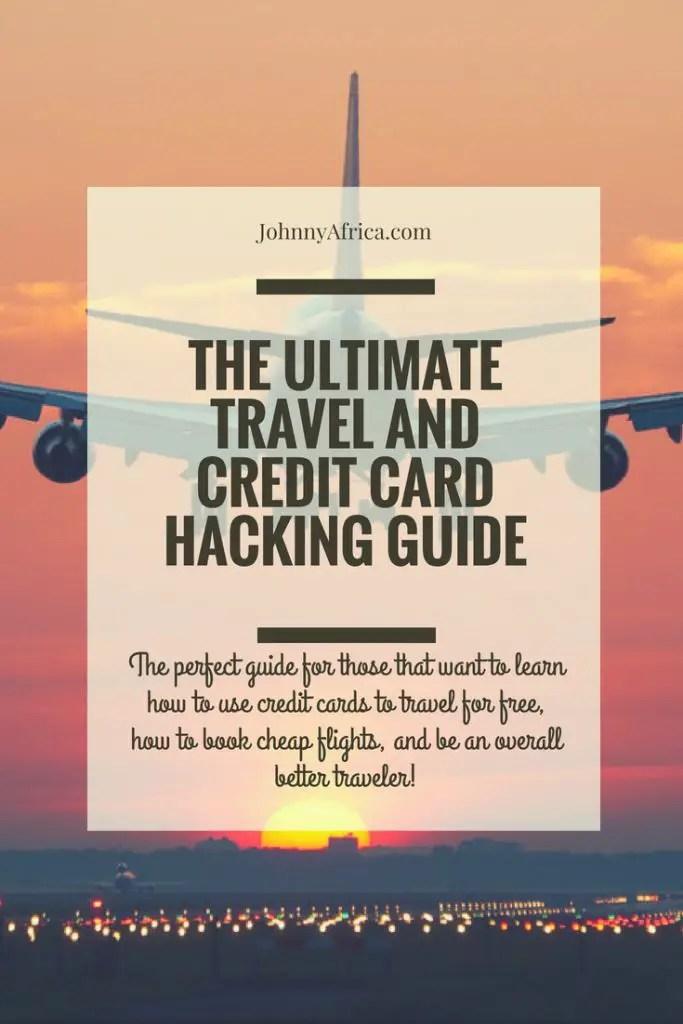 travel hacking credit cards 2018
