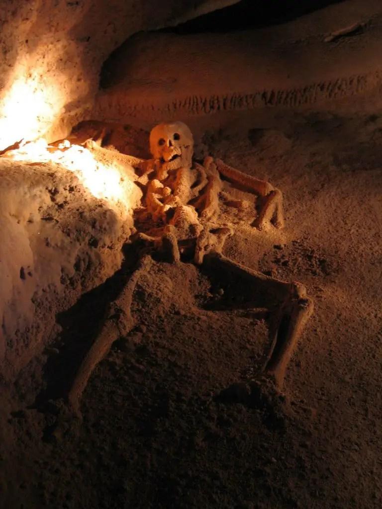 skeleton actun tunichil muknal