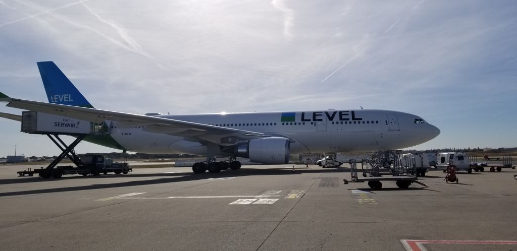 level airlines aircraft Airbus a330