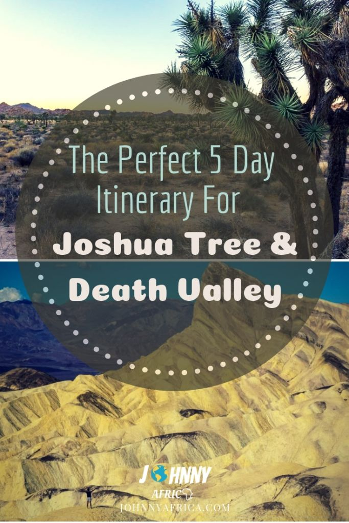 Joshua Tree and Death Valley are two of the most iconic parks in America. There is no shortage of stunning landscapes, beautiful views, and engaging hikes in these parks. A road trip is the perfect way to see these two parks together. #roadtrip #joshuatree #deathvalley #southwest #california