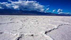 Death valley National Park badwater basin salt flats