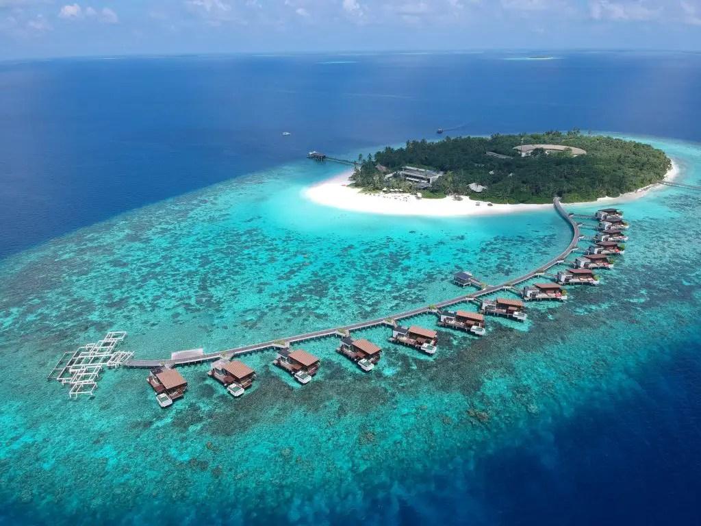 Park Hyatt hadahaa maldives aerial