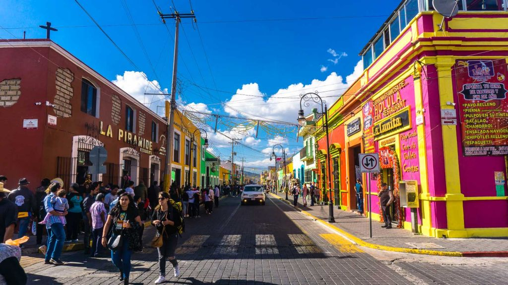 Streets of Cholulua