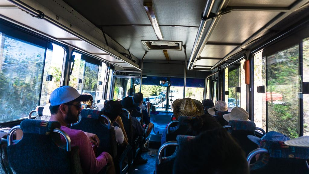 Bus to Mitla from Oaxaca
