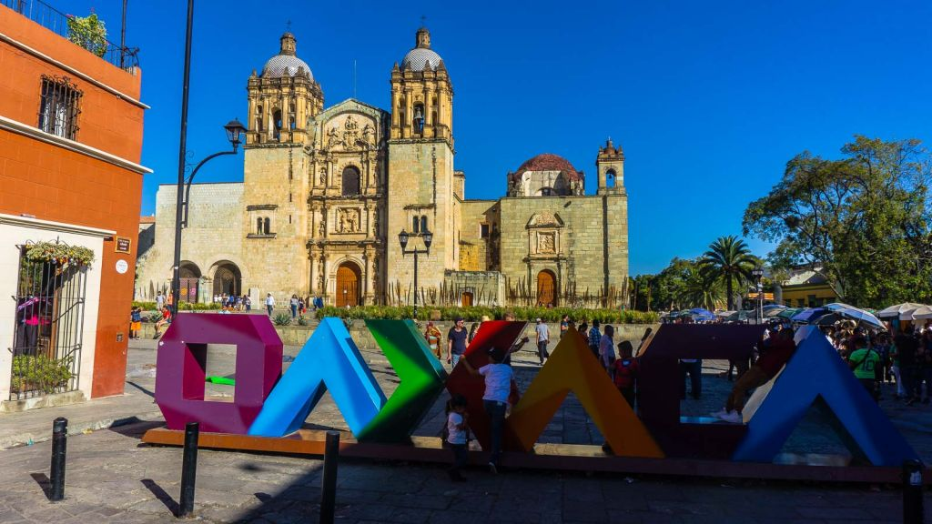Beautiful Oaxaca City