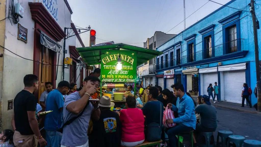 chefinita tacos oaxaca