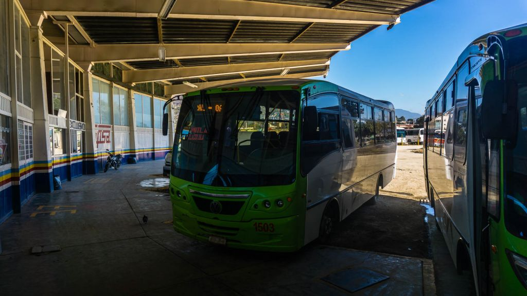 Local buses to Mitla from Oaxaca