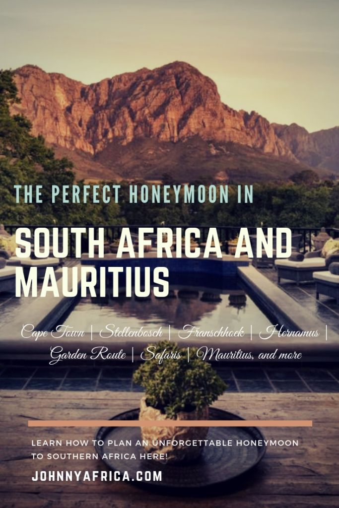Our honeymoon covered all the highlights of South Africa including Cape Town, Garden Route, Wine country, and two different game lodges to view animals! We followed it up with beach time in Mauritius. Learn how to plan an amazing honeymoon like we did to beautiful Southern Africa!