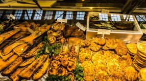 Old Market Hall Food Helsinki Finland