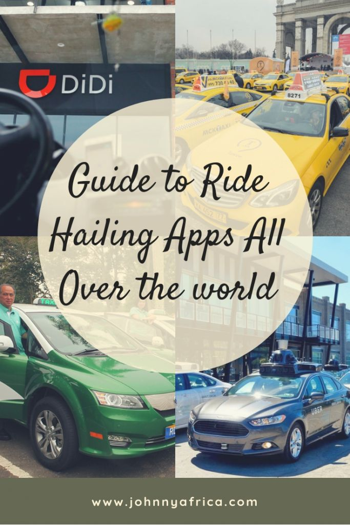 Comprehensive Guide To Ride Hailing Apps In All Countries