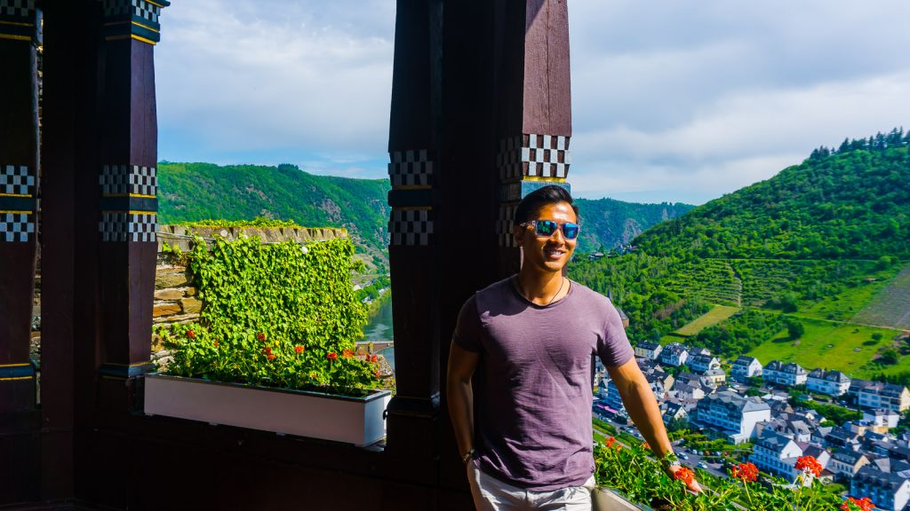 Cochem Castle View Germany