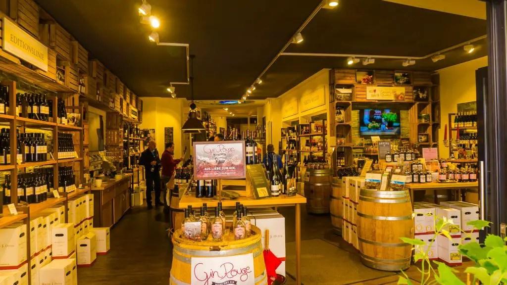 Riesling shop Cochem