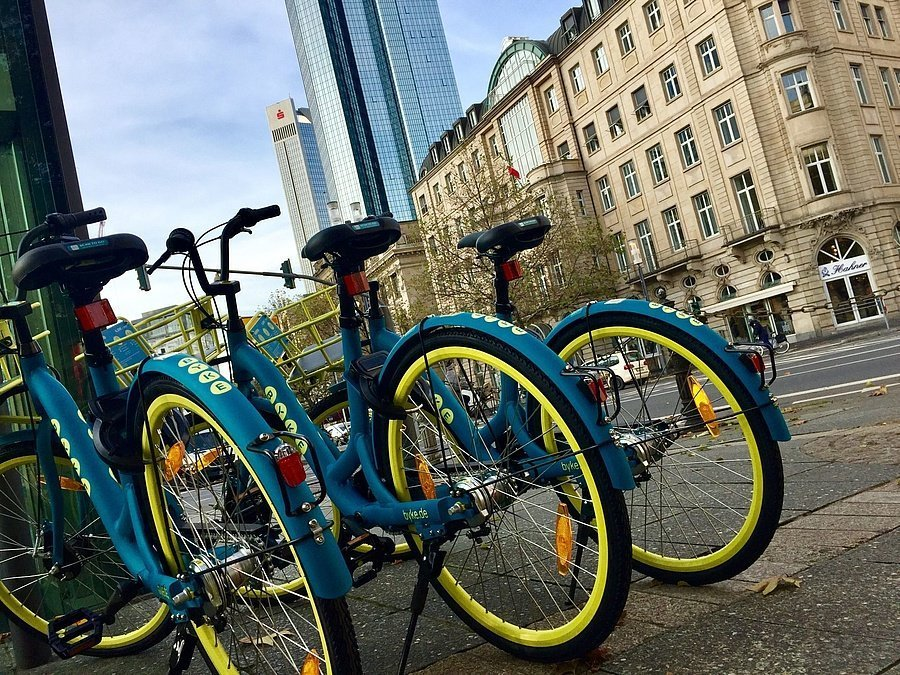 Wind Bikes in Frankfurt