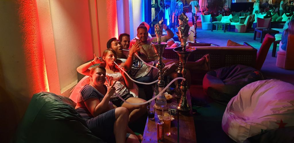 Port ghalib party shisha
