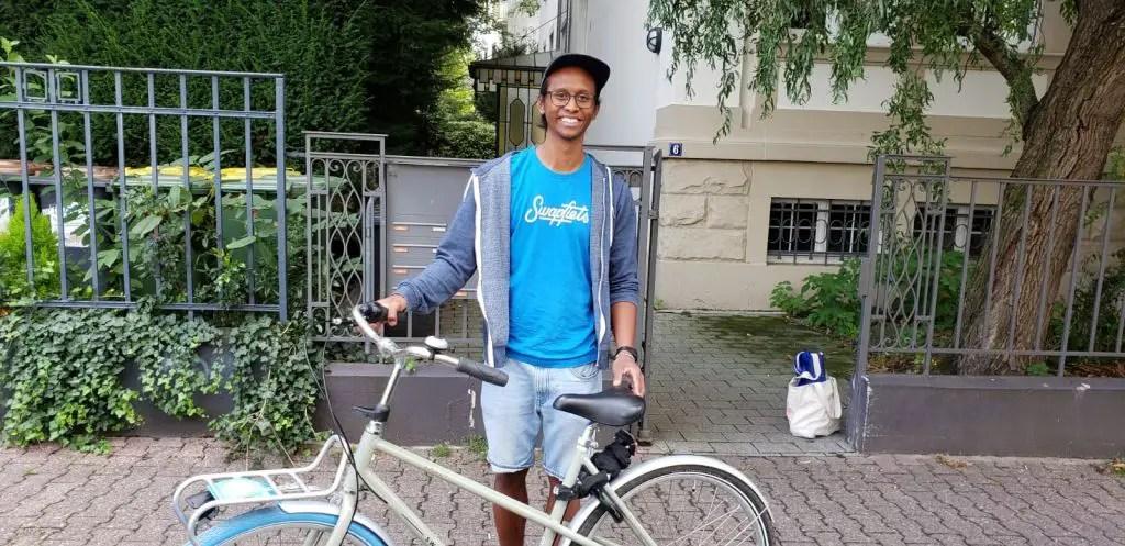 Swapfiets bike rental