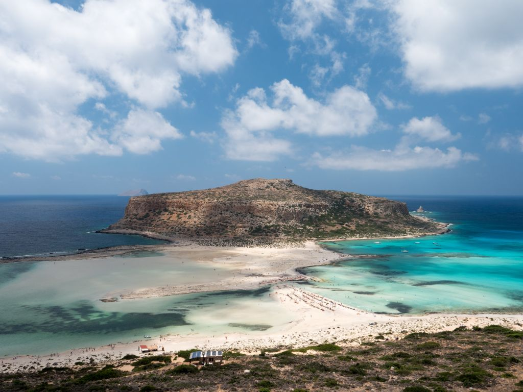 Balos beach by Chania