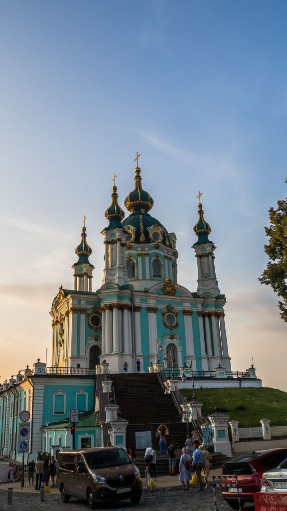 St Andrews Church of Kiev