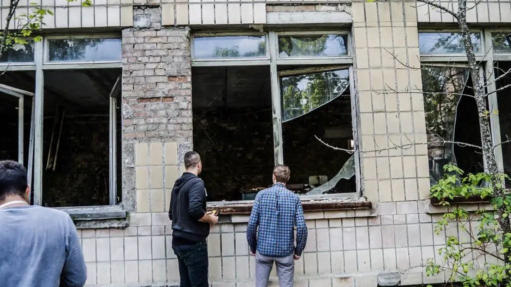 chernobyl pripyat building
