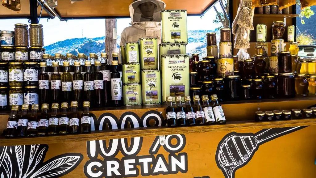 fresh olive oil, honey and raki