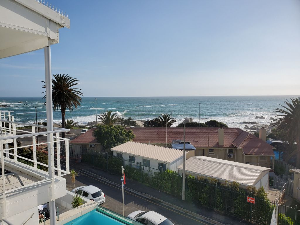 Views of the ocean from our hotel. south beach camps bay