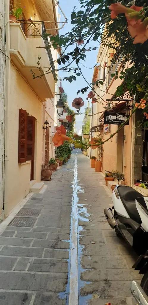 Beautiful streets in Chania