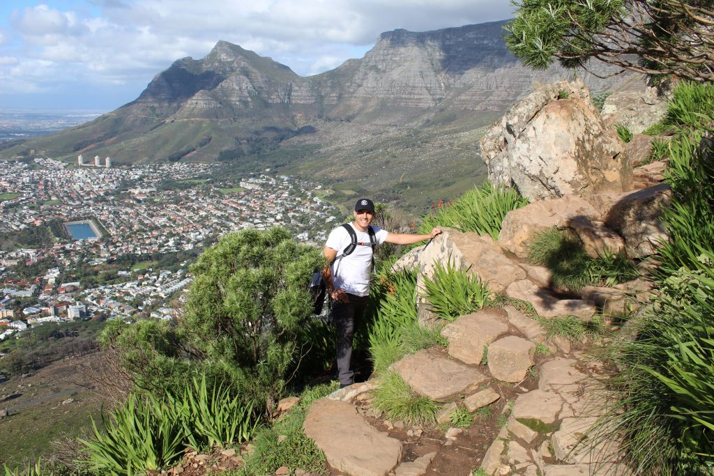 Lion's head hike cape town