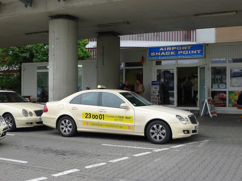 Taxi from Frankfurt Airport