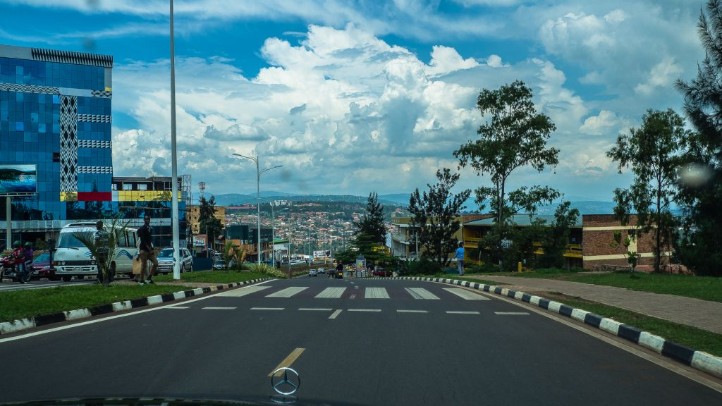 Kigali perfect roads
