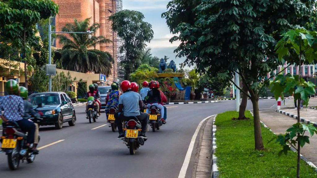 Boda bodas in Kigali