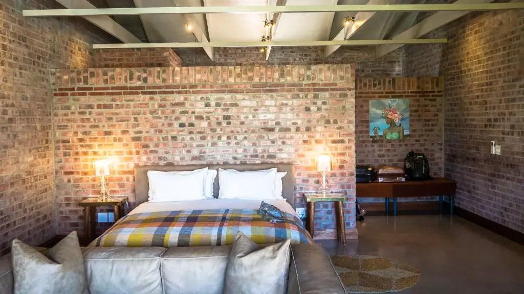 Our deluxe suite at De Zeven