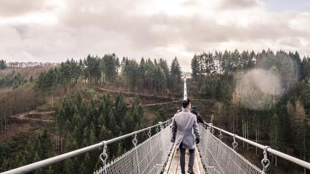 Geierlay Suspension bridge germany
