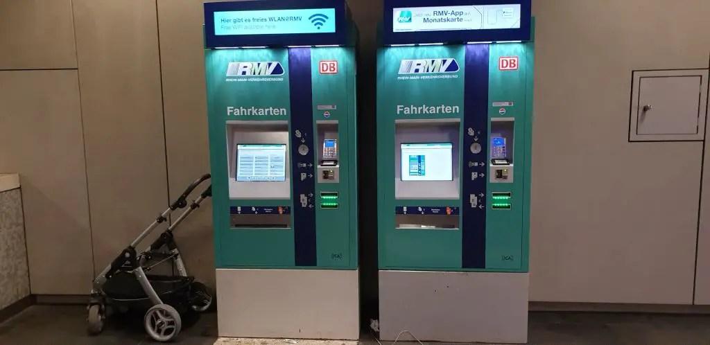 S-Bahn ticket machine