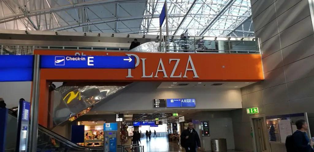 Terminal 2 Frankfurt airport